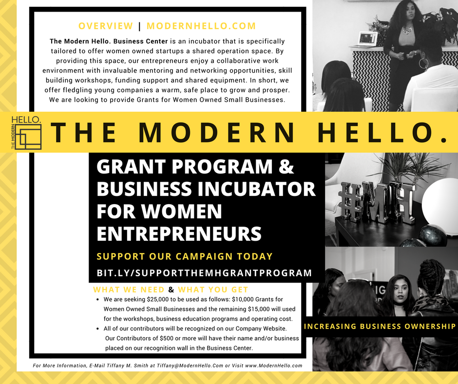 Tiffany M. Smith, Founder + CEO -   The Modern Hello.
