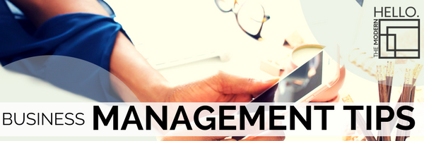 Business Management Tips: Efficiency is the Key to a Stress-Free Business