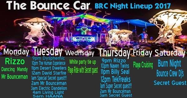 #thebouncecar is headed up to #burningman now! We have an epic week of amazing DJs rockin on the car. Can't wait to see you in the #dust!!!