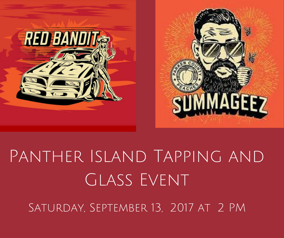 Panther Island Tapping and Glass EventSaturday, September 13, 2017.png