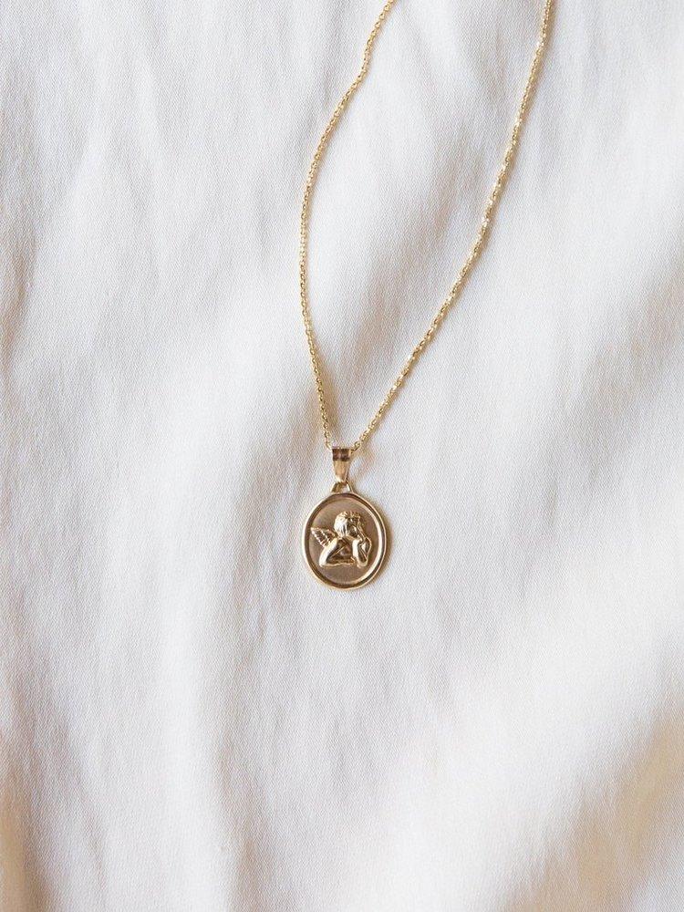 Shop Girl - Shop — 14K Solid Gold Necklace