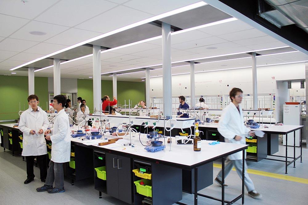 Chemistry Undergraduate Laboratories