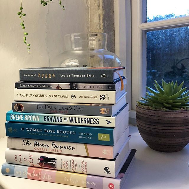 Show us your stack 😂 (why does that always sound so rude?) ⠀⠀⠀⠀⠀⠀⠀⠀⠀ This is my stack in my little reading corner, complete with old and battered recliner as all reading corners should be. I'm either reading or re-reading all these at the moment 📖 🙏🏼❤️ 🛋  What are you reading at the moment? ⠀⠀⠀⠀⠀⠀⠀⠀⠀ ⠀⠀⠀⠀⠀⠀⠀⠀⠀ ⠀⠀⠀⠀⠀⠀⠀⠀⠀ ⠀⠀⠀⠀⠀⠀⠀⠀⠀ #parfaitnotperfect #lifecoachforwomen #heartcentred #vulnerability #gratitudepractice #proudfeminist #womenonamission #coachlife #womenscircle #creativeliving #wholeheartedliving #belonging #emotionalwellbeing #womensupportingwomen #togetherwerise #boldbraveyou #connection #daringgreatly #lifeonpurpose #comehometoyourself #empoweredwomen #powerfulwomen #psychology #bookstack #leadershipcoach