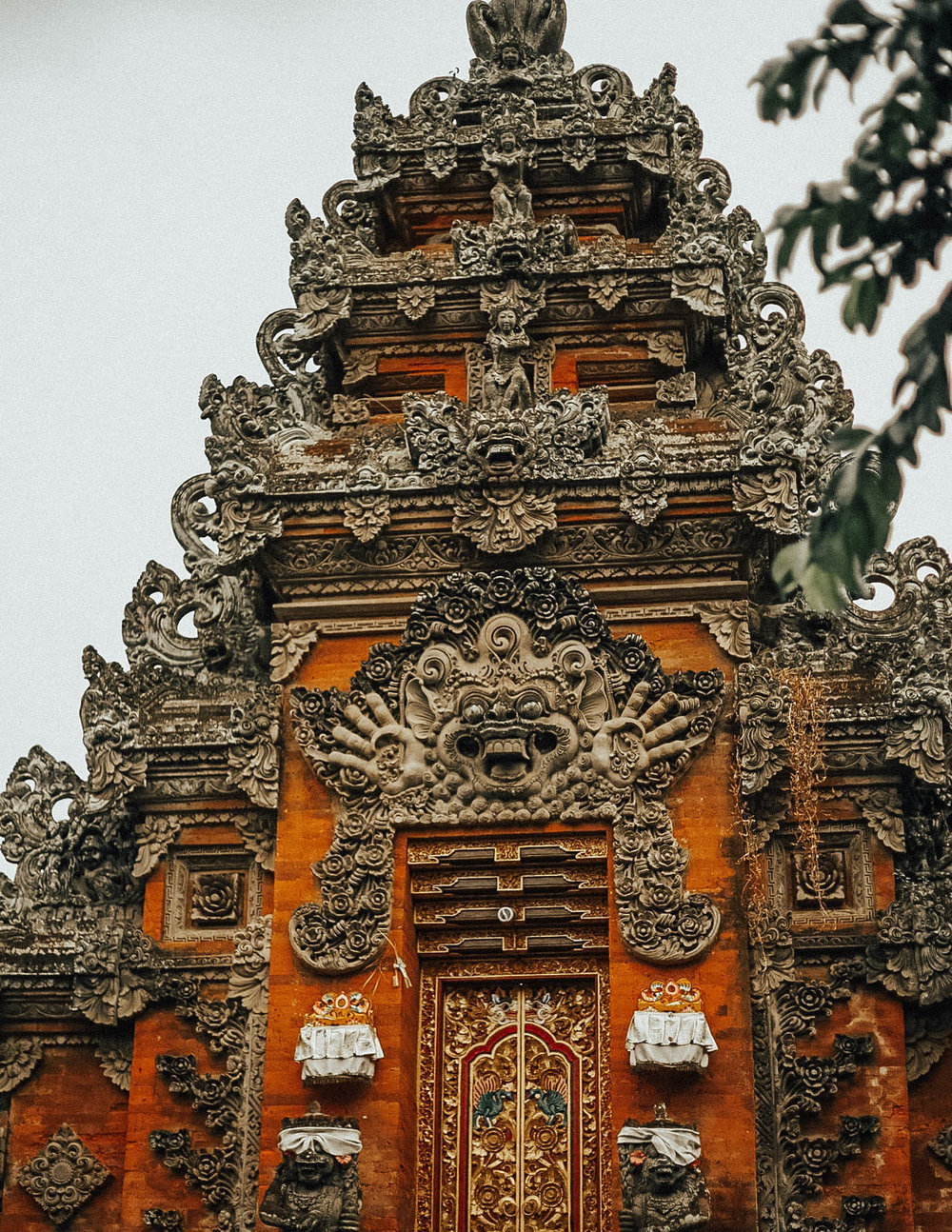 In Bali, Hinduism is the most predominant religion, with Muslim closely to follow. A Balinese temple is referred to as a Pura. When visiting the temples, your legs must be covered, and menstruating women are forbidden to enter, as it is considered impure. Though many still abide by this ancient belief, many are also slowly moving away from it.
