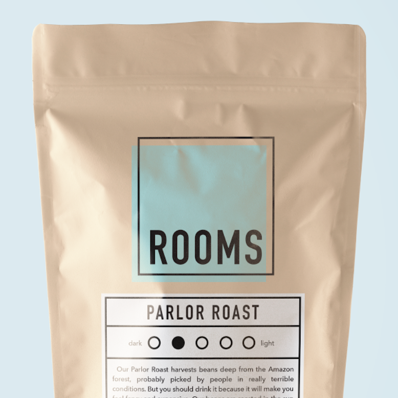 ROOMS   BRANDING PROJECT