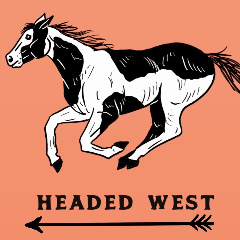 HEADED WEST   SHIRT DESIGN