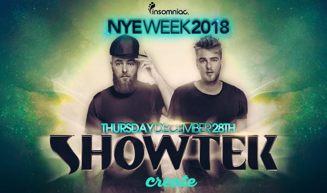 Tickets - Showtek  at Create