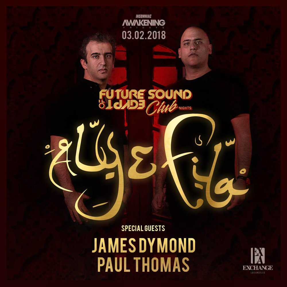 Tickets 🎟️ - Aly & Fila at Exchange LaGuestlist is Available