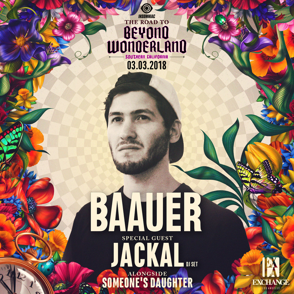 Tickets🎟️ - Baauer with Jackal at Exchange LAGuestlist is Available