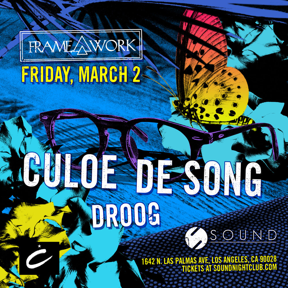 Tickets 🎟️ - Culoe de Song At SoundGuestlist Pricing: Free before 11pm