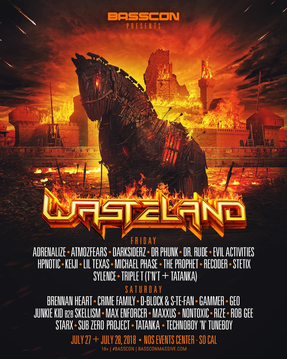 Wasteland - 2 Full Days of Hard Bass
