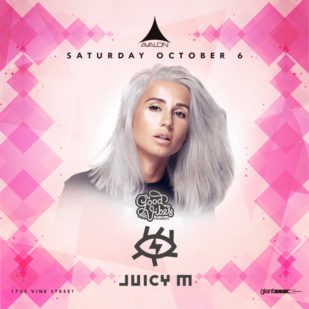 Sat OCt 6 - Juicy M + Many MoreBottle / Table Service Text: (323)684-5299Use Promo Code: UAN for 10% off