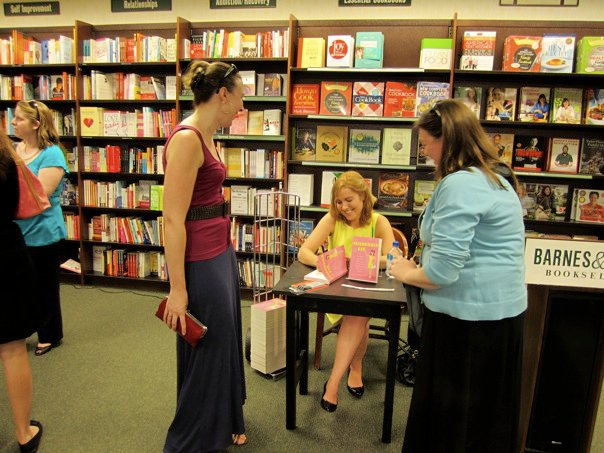 Barnes & Noble book signing for The Friendship Fix