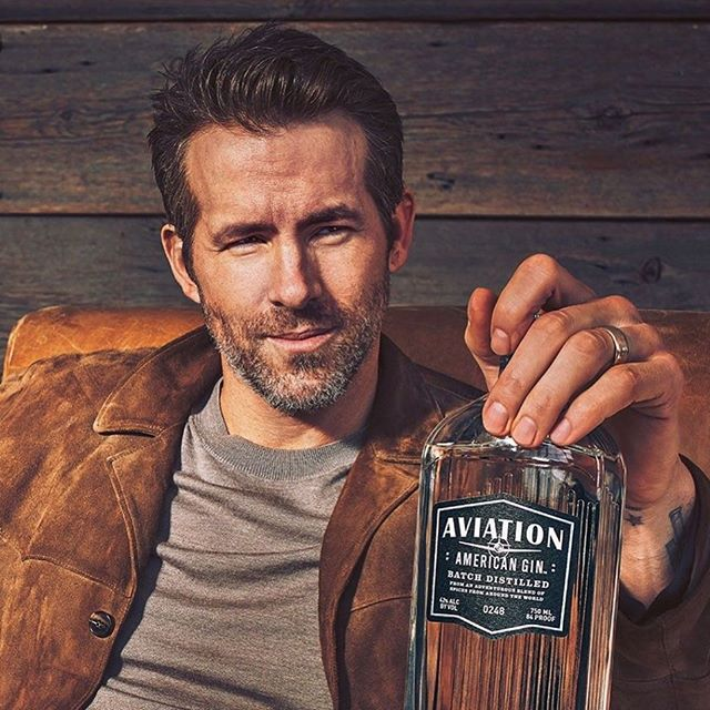 Gin Night Friday featuring Aviation Gin and the Aviation Martini. Thanks for a damn good gin @vancityreynolds #avaitiongin #ginnight #aviationmartini #happinessinabottle #goodtimes #gin
