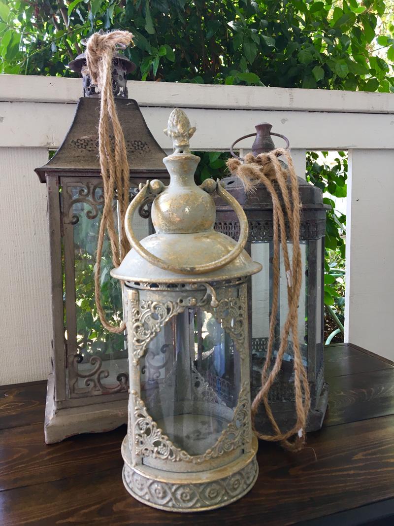 Various Metal with glass Lanterns.jpg