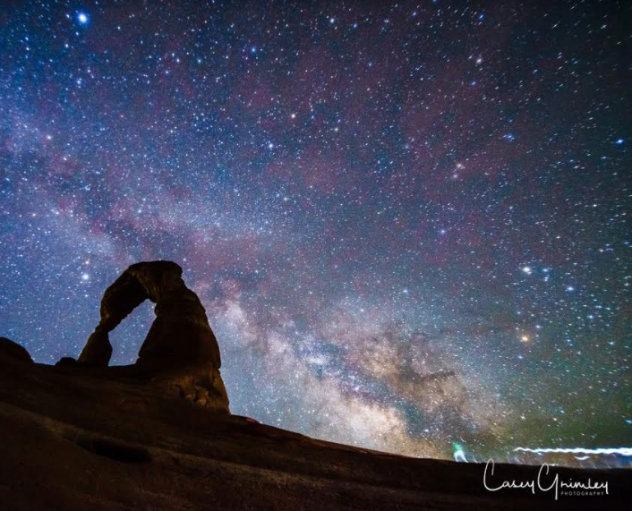 Dark Sky Photographs - Local artist Casey Grimley will donate a portion of sales of his beautiful dark-sky photos to Dark Sky SLC.  Look through his incredible collection by clicking here.