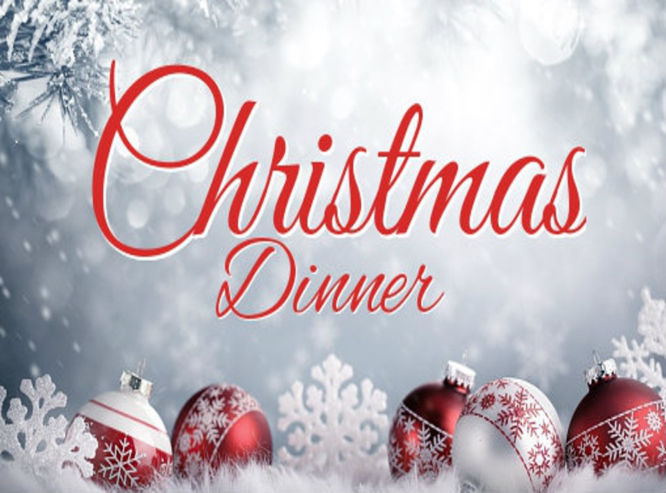 All are welcome to join us for a Delicious Ham Christmas dinner with all the fixings to go with it.     The tableware and ham are provided by the social committee. Please see the sign up sheet for side dishes. if you would like to help with the meal.