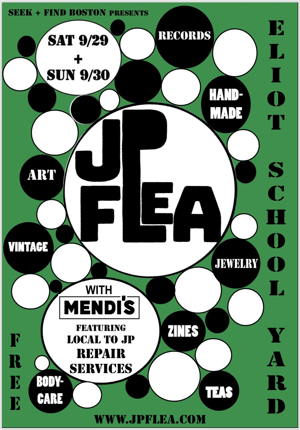 The Clack will be vending at the JP Flea on Saturday, Sept. 29th. Come on out!