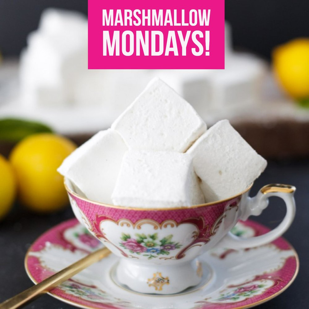 Marshmallow mondays - Join us this fall for fun marshmallow recipes!