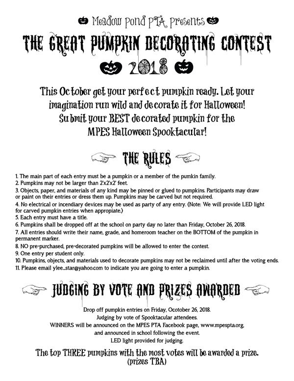 Great Pumpkin Decorating Contest.jpg