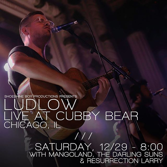 One week from today! Contact a band member for discounted tickets to see us @cubbybearwrigley with @mangolandband, @thedarlingsuns and @resurrectionlarry courtesy of @shoeshineboyproductions! 📸: @shellynavarre at @metrochicago  #livemusic #liveband #livemusicchicago #bandsintown #chicagoconcert #cubbybear #wrigleyville #newyearseve #chicagomusic