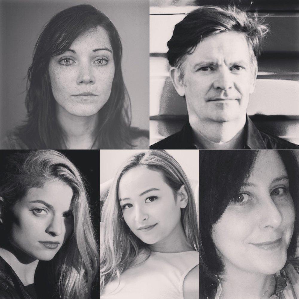Clockwise: Rob Spillman, Melissa Ragsly, Kyle Lucia Wu, Annabel Graham, & Sarah Gerard