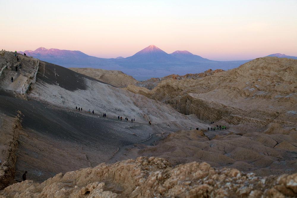 Valle de la Luna, Atacama Desert, Chile, 2017. Image © Lindsay Comstock.