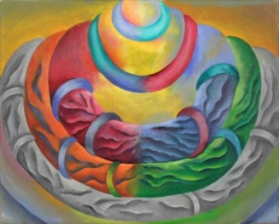 Suellen Rocca, Torso II, 2000-12. Oil on canvas, 11 x 14 inches. Image courtesy Matthew Marks Gallery