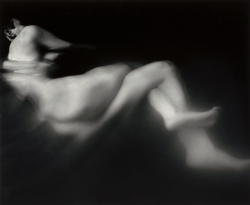 Connie Imboden, Untitled (figure in water), 1988, Smithsonian American Art Museum, © 1988, Connie Imboden, Museum purchase, 1991.52.1
