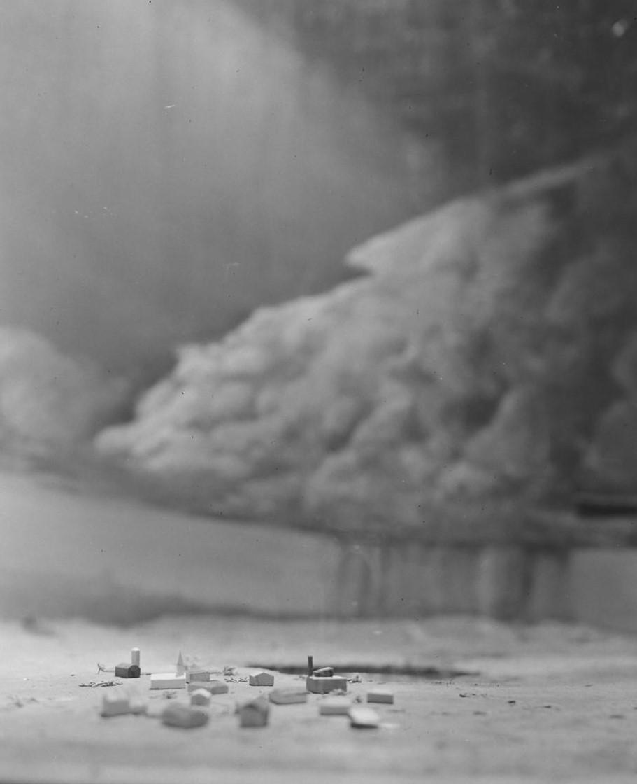 Joe Scherschel, Tornado In A Bottle. 13.9 x 17.8 inches  Courtesy of © Time Inc.