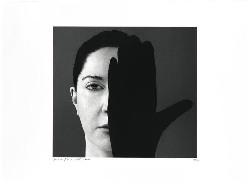 Marina Abramović, Light Side, Dark Side. (2006) ©Marina Abramović. Chromogenic print.