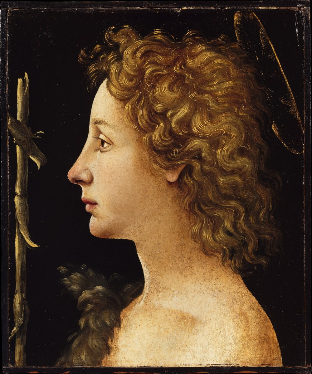 Piero di Cosimo, The Young Saint John the Baptist. ca. 1480–82. Tempera and oil on wood. The Bequest of Michael Dreicer, 1921.