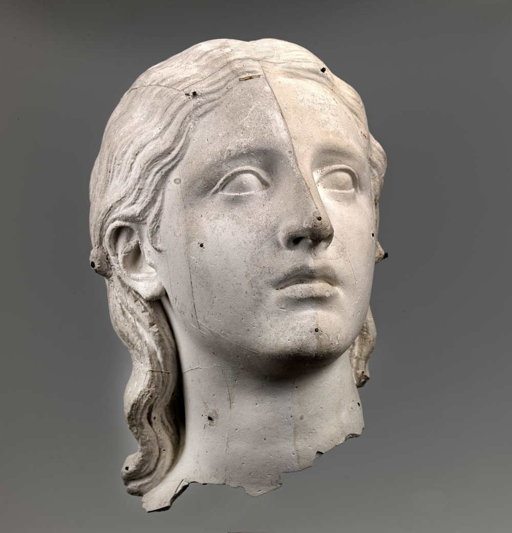 Hiram Powers, Eve Disconsolate, modeled 1855-1861, plaster, Smithsonian American Art Museum, Museum purchase in memory of Ralph Cross Johnson, 1968.155.113