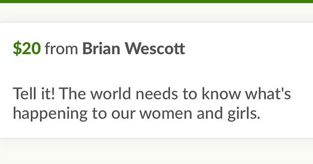 """Thank you, to Brían Wescott!  For the Donation to Devon's Forrest  That tell's the story of """"A young man finds true love in a courageous woman. Before she is added to the list of Missing and Murdered Indigenous Women."""" Today, August 28th, 2017 is Day 6!  Of our 9-day countdown to our next day of filming for Devon's Forrest.  If you would like to make a donation or re post our crowd funding page please visit  https://www.gofundme.com/devonsforrestfilm-com or  follow us on  Instagram @devonsforrstfilm & on Facebook @devonsforrstfilm  Our New Teaser Clip is also available at  https://www.devonsforrestfilm.com  Thanks so much  #gofundmedonations #indigenous #nativefilm #nmfilm #indepentfilmmaking #missingandmurderedindigenouswomen #devonsforrest #devonsforrestfilm #shortfilm @gofundme"""