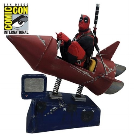 @Shrike3000 - Deadpool Rocket Ride Premium Motion Statue