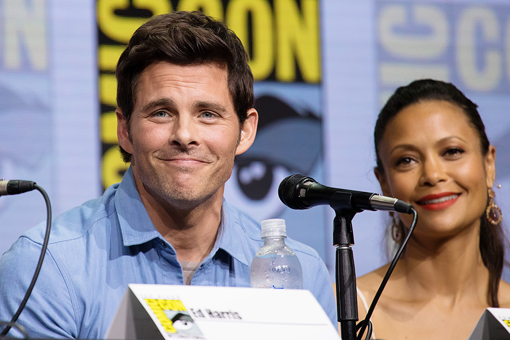"James ""Teddy"" Marsden and Thandie ""Maeve"" Newton"