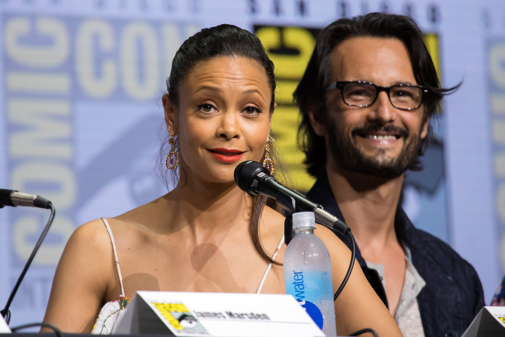 "Thandie ""Maeve"" Newton and Rodrigo ""Hector"" Santoro"