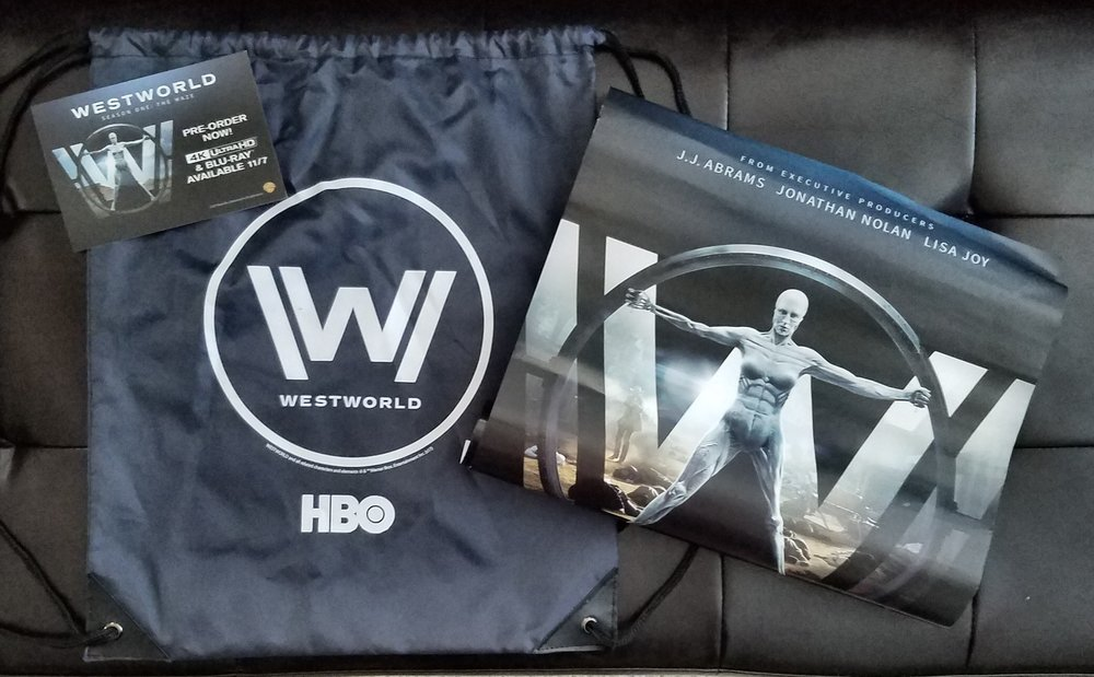 Lauren A - SDCC 2017 Westworld Hall H Bag