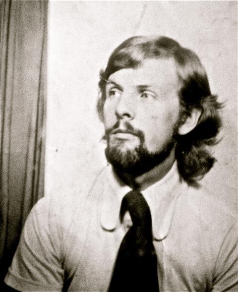 JB as a young art teacher.