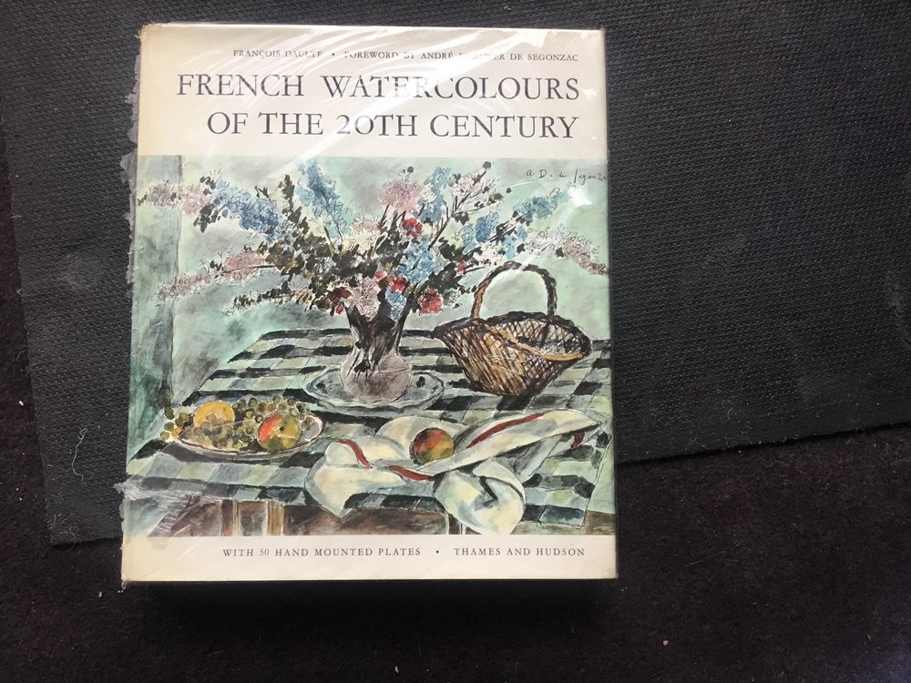 noel mckenna bought his first art book in 1975, french watercolours of the 20th century.