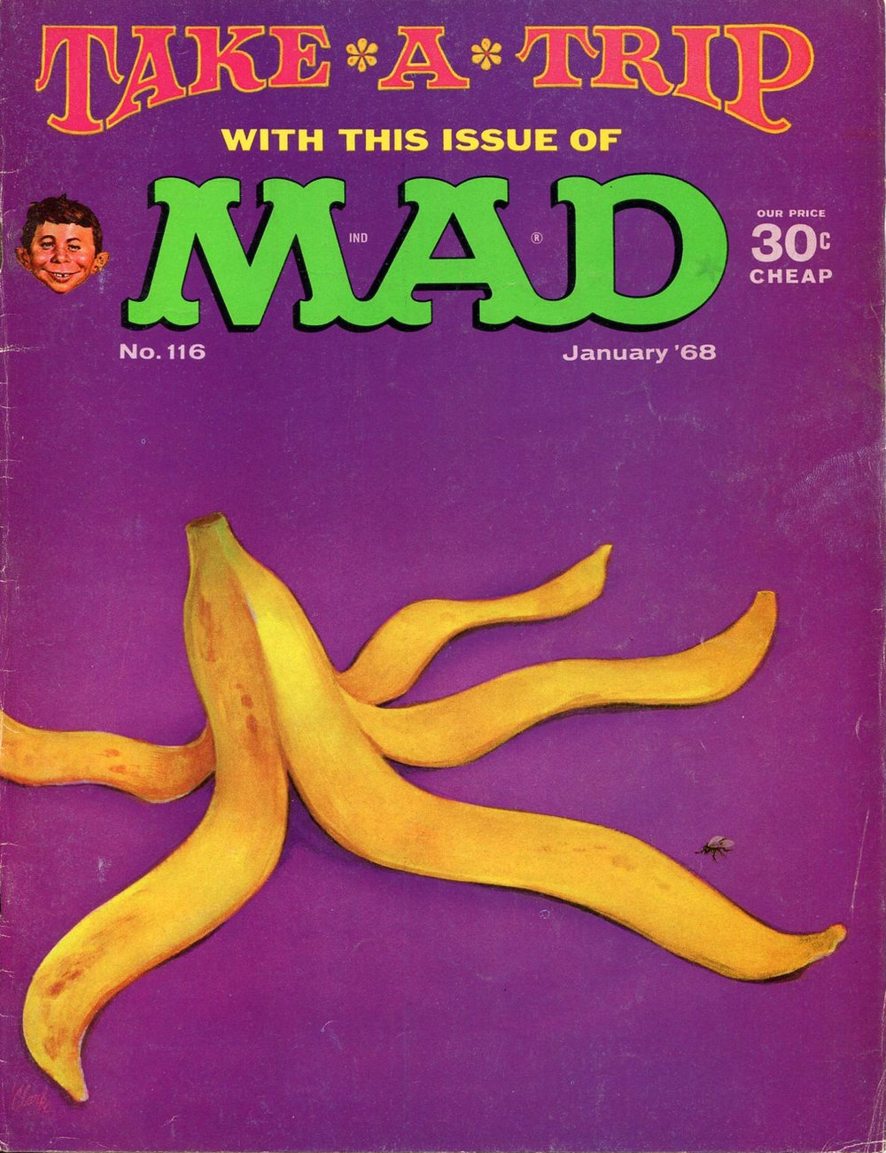 MAD MAGAZINE No.116 January 1968