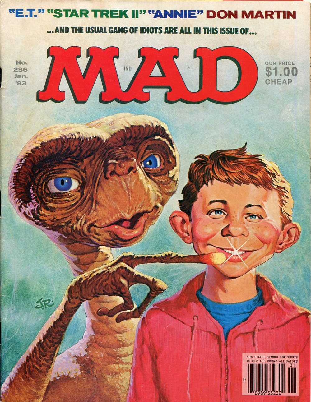 Mad magazine no. 236 January 1983