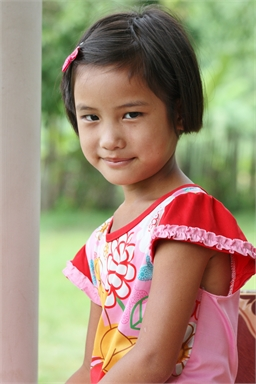 Wanita   Wanita has a very warm personality. She loves playing with all her friends. She enjoys playing soccer when she gets the chance.