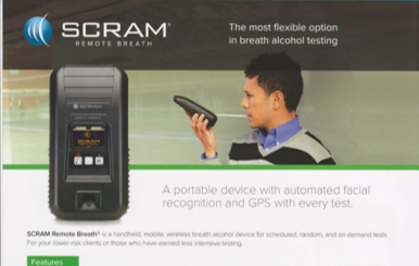 SCRAM Remote Breath Flyer