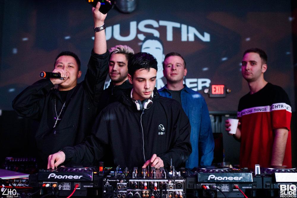 Big slide takeover @ Q nightclub - 3/2/18