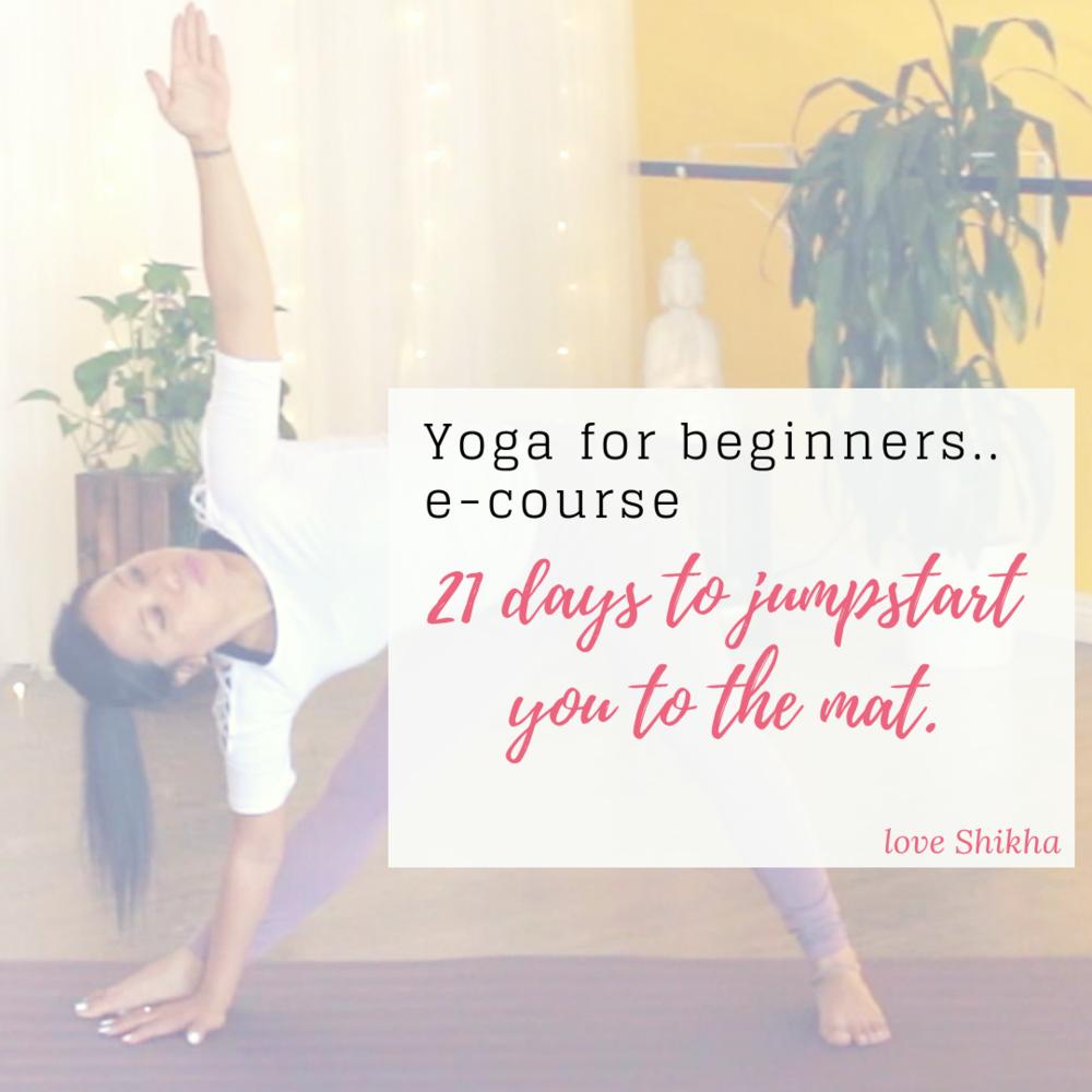 Yoga e-course