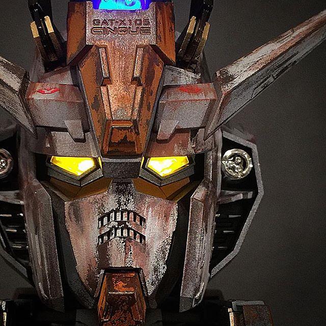Titan ARTillery doesn't just build costumes #gundam #strike #gunpla #scalemodel