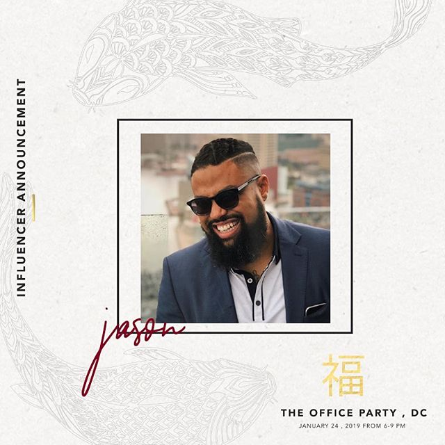 Happy Friday Everyone! We are excited to announce that @jasoncbass will be joining us at #TheOfficePartyDC as one of our awesome local influencers!  _____ Jason is a father, creative and a successful entrepreneur from Baltimore, MD! He's the curator of @thenightbrunch where he brings people together over food and music to naturally create communities.  ____ Over the course of his career, he's successfully raised over $500,000 by working with global brands.  _____ He's also known for textiles, manufacturing, design, and branding amongst other things! Meet him on Jan 24th at @studio52dc!