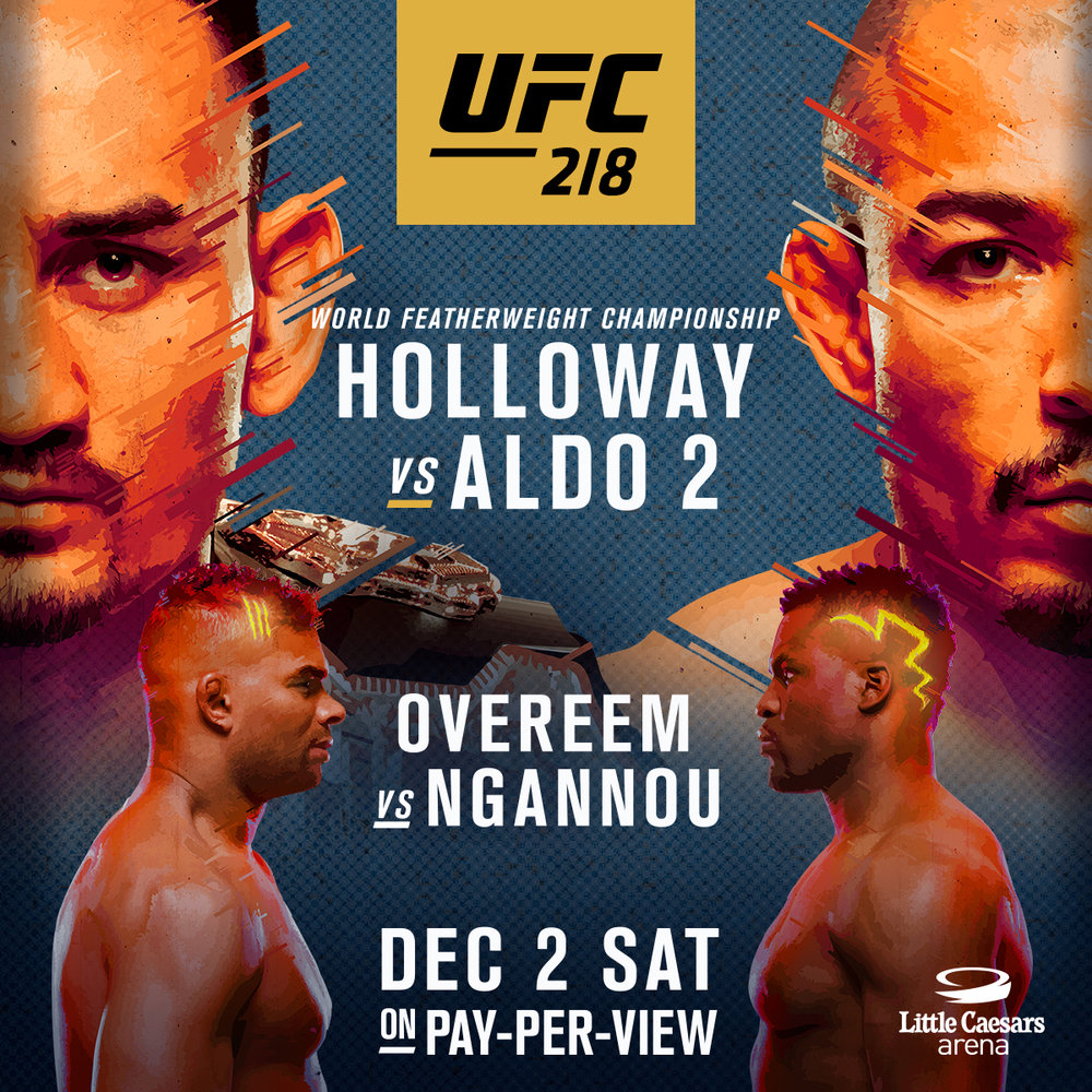 UFC 218 @ Fantasy Island - Holloway vs Aldo 2 Catch all the UFC action here @ FI, in our unique Gentlemen's Sports Lounge.  Enjoy 12 large screen TVS in addition to our Huge Main Stage Projection Screen.  With Showgirls dancing for your entertainment in between fights and drink/food specials that will knock you out ;) Fantasy Island is your premier destination for sports.  The UFC Lives here.  Reserve your table today!