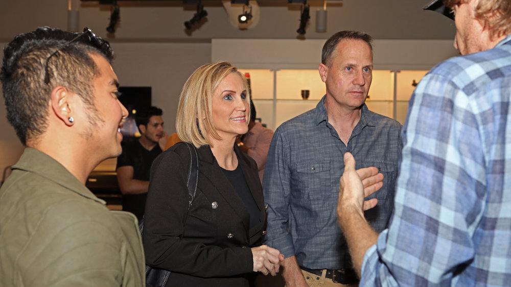 Bru talking to Tom, Julie & Mark.jpg